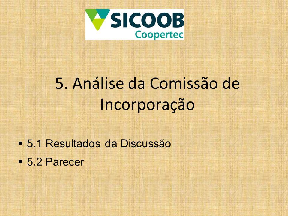 5. Análise da Comissão de Incorporação