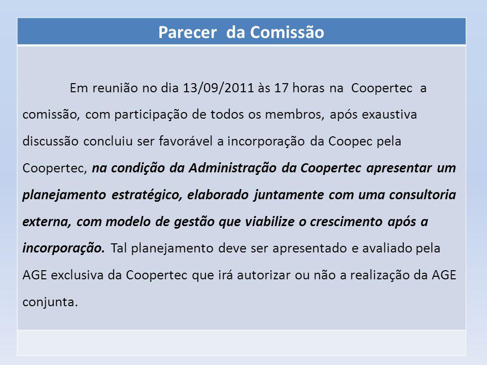 Parecer da Comissão