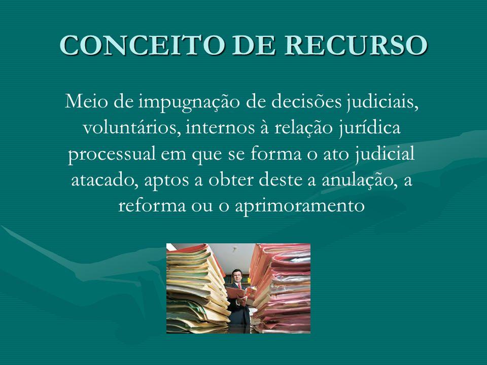CONCEITO DE RECURSO