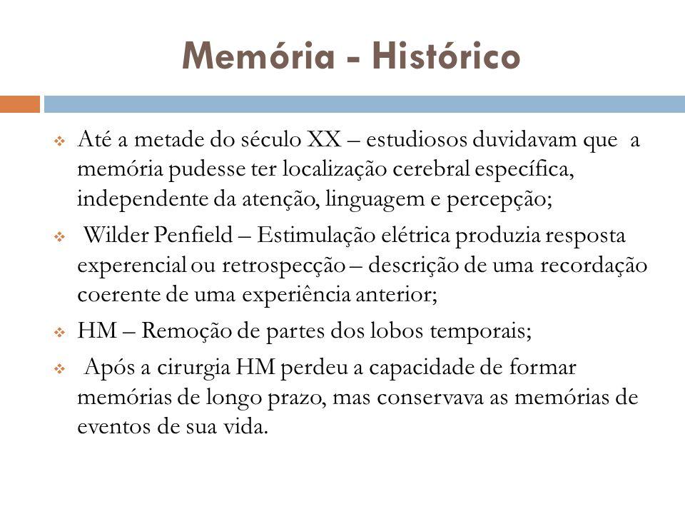 Memória - Histórico