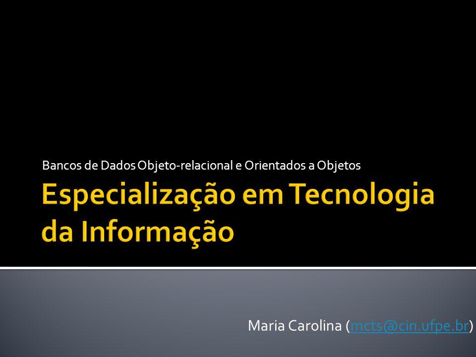 Especialização em Tecnologia da Informação