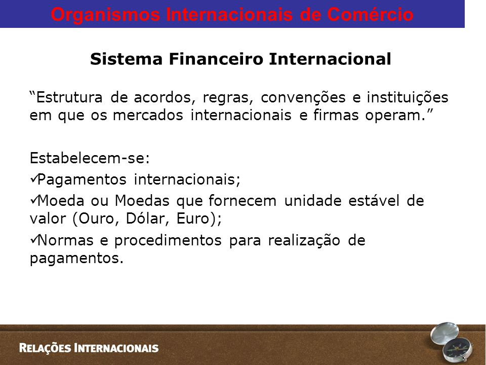 Sistema Financeiro Internacional