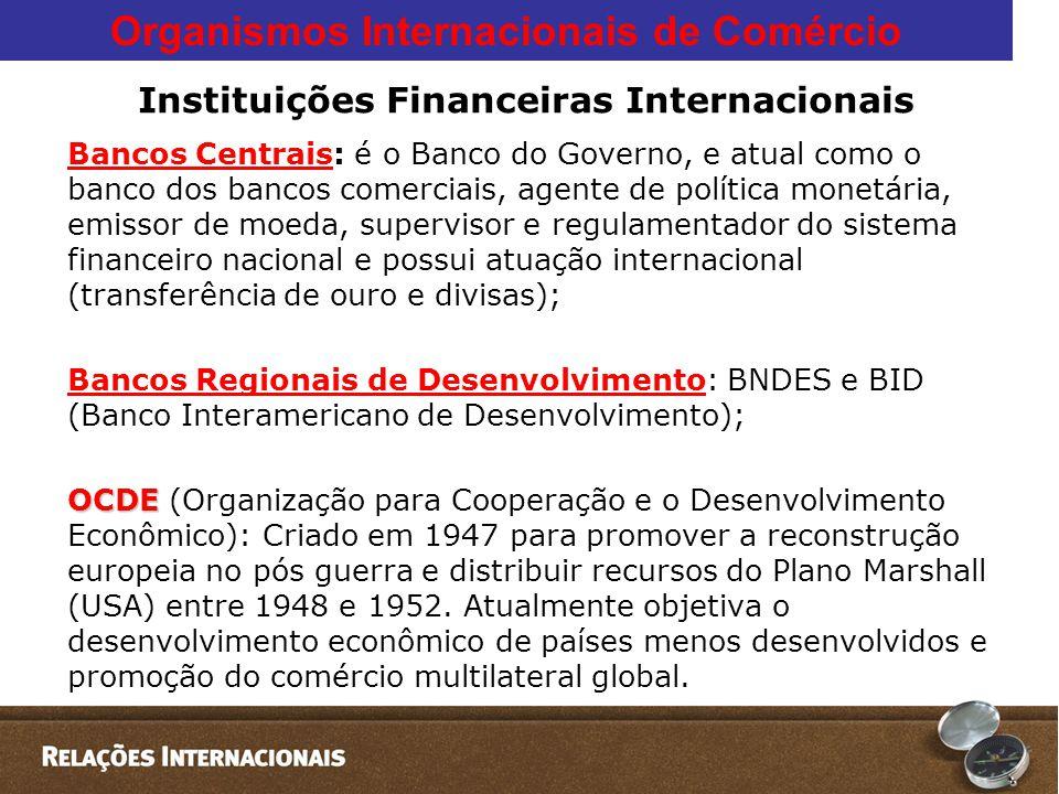 Instituições Financeiras Internacionais