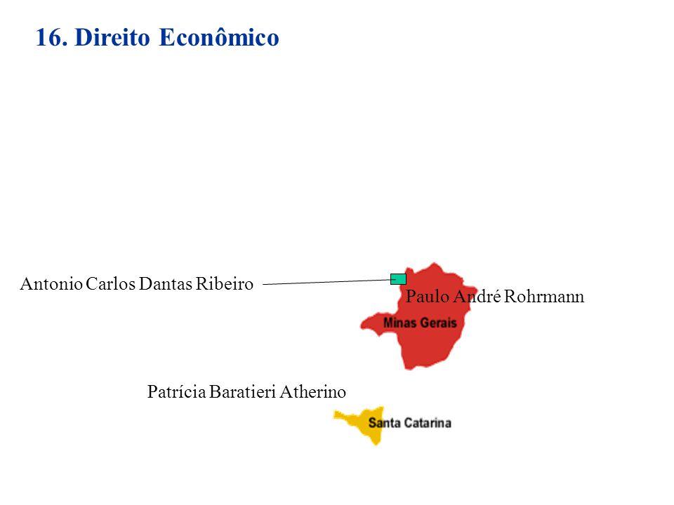 16. Direito Econômico Antonio Carlos Dantas Ribeiro