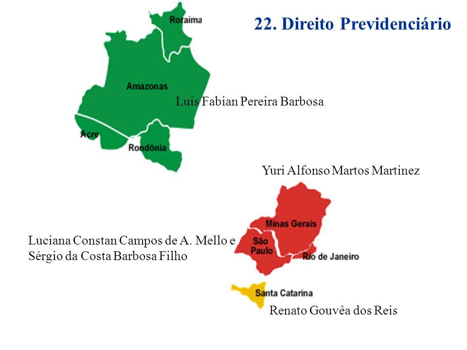 22. Direito Previdenciário
