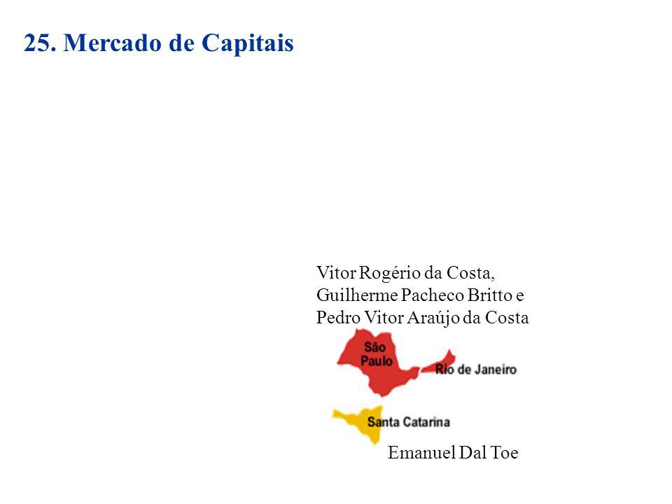 25. Mercado de Capitais Vitor Rogério da Costa,
