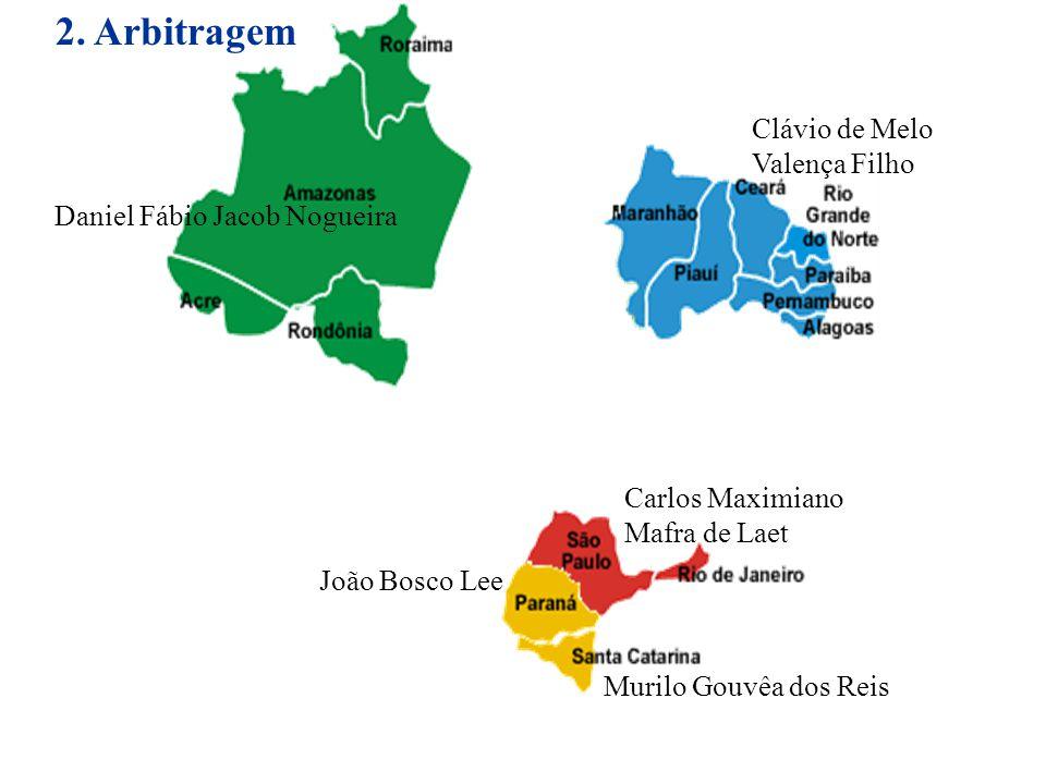 2. Arbitragem Clávio de Melo Valença Filho Daniel Fábio Jacob Nogueira