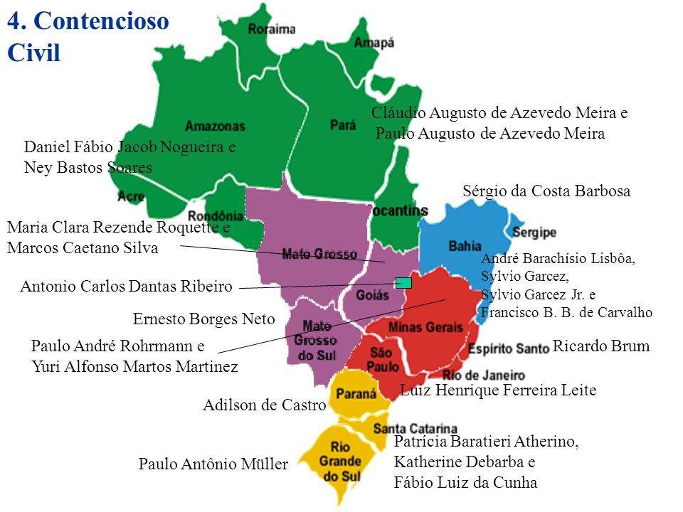 4. Contencioso Civil Cláudio Augusto de Azevedo Meira e