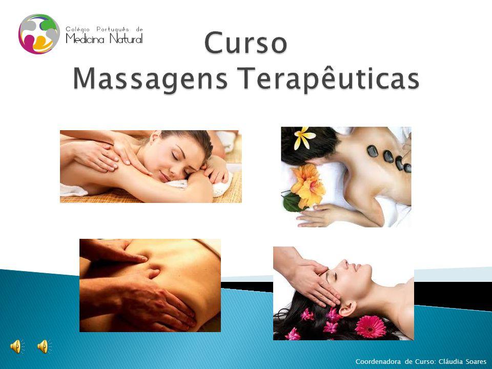 Curso Massagens Terapêuticas