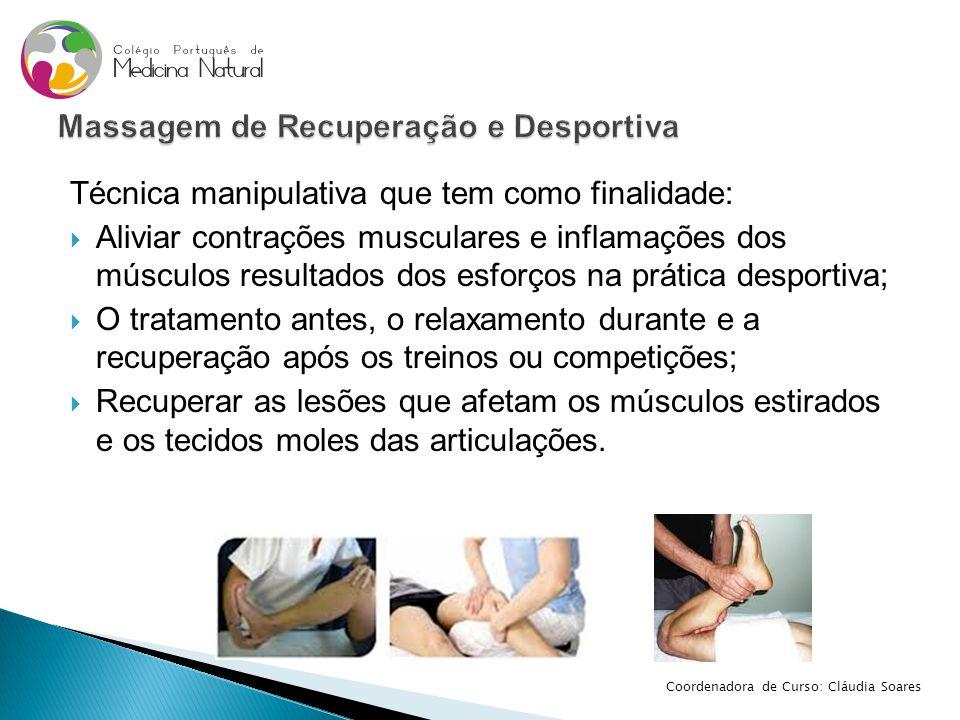 Massagem de Recuperação e Desportiva