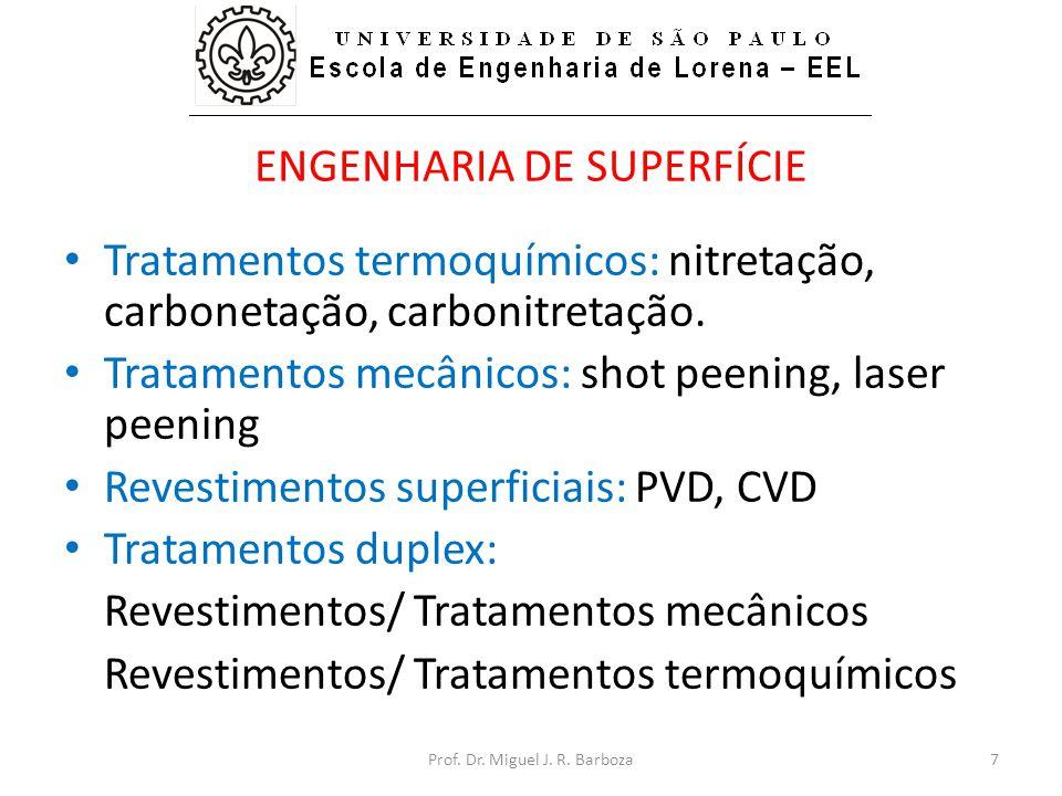 ENGENHARIA DE SUPERFÍCIE