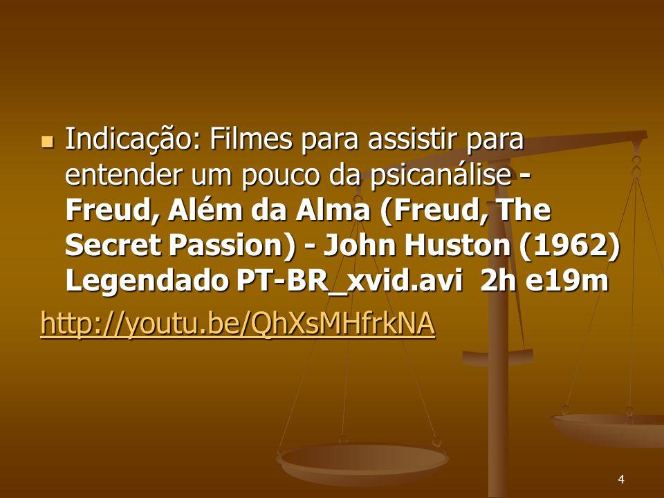 Indicação: Filmes para assistir para entender um pouco da psicanálise - Freud, Além da Alma (Freud, The Secret Passion) - John Huston (1962) Legendado PT-BR_xvid.avi 2h e19m