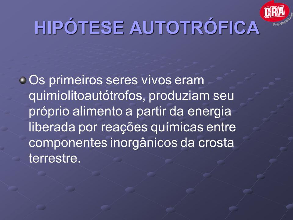 HIPÓTESE AUTOTRÓFICA