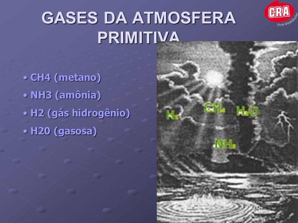GASES DA ATMOSFERA PRIMITIVA