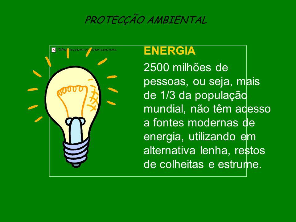 PROTECÇÃO AMBIENTAL ENERGIA.