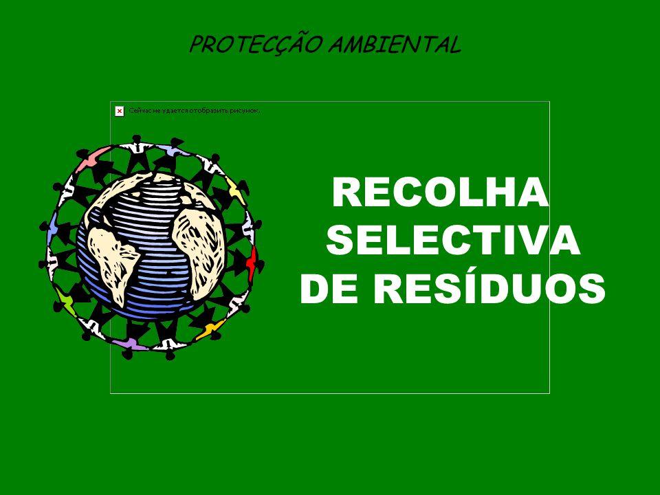 RECOLHA SELECTIVA DE RESÍDUOS