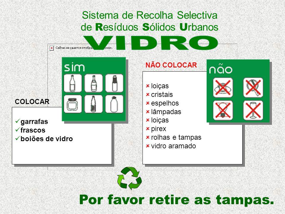 Sistema de Recolha Selectiva de Resíduos Sólidos Urbanos