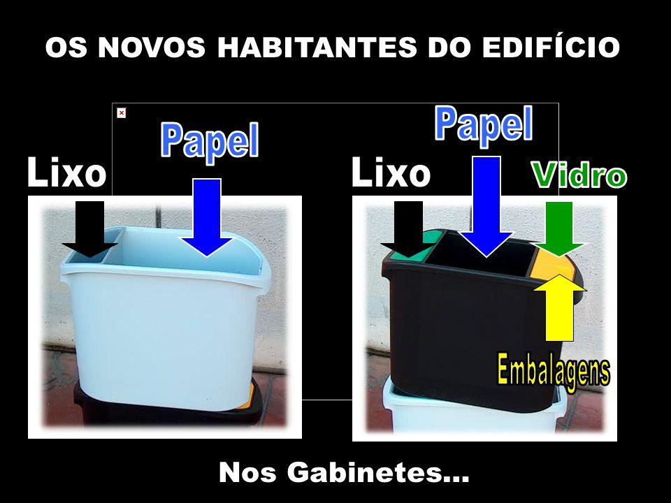 OS NOVOS HABITANTES DO EDIFÍCIO