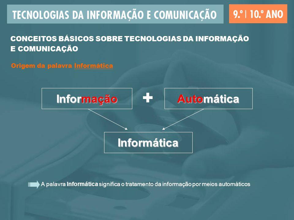 + Informação Automática Informática