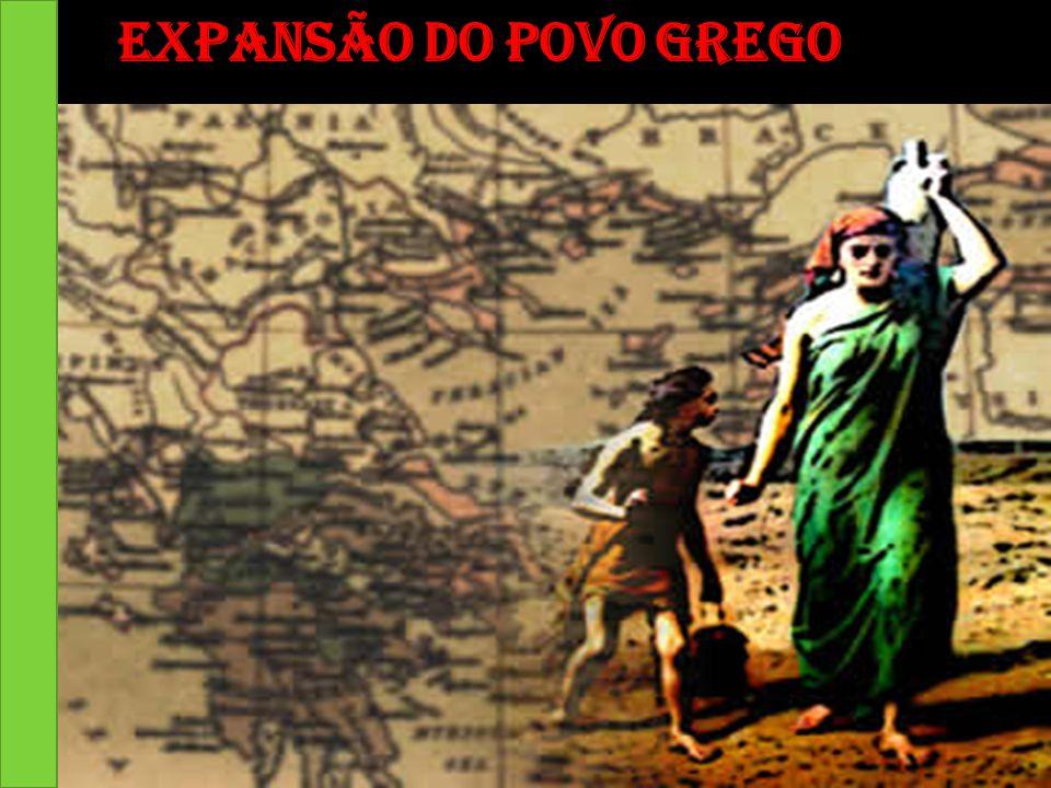 Expansão do povo grego