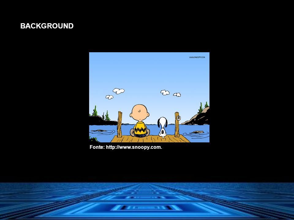 BACKGROUND Fonte: http://www.snoopy.com.