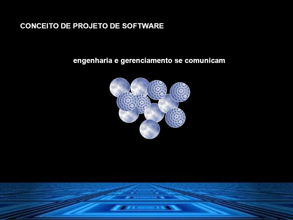 CONCEITO DE PROJETO DE SOFTWARE