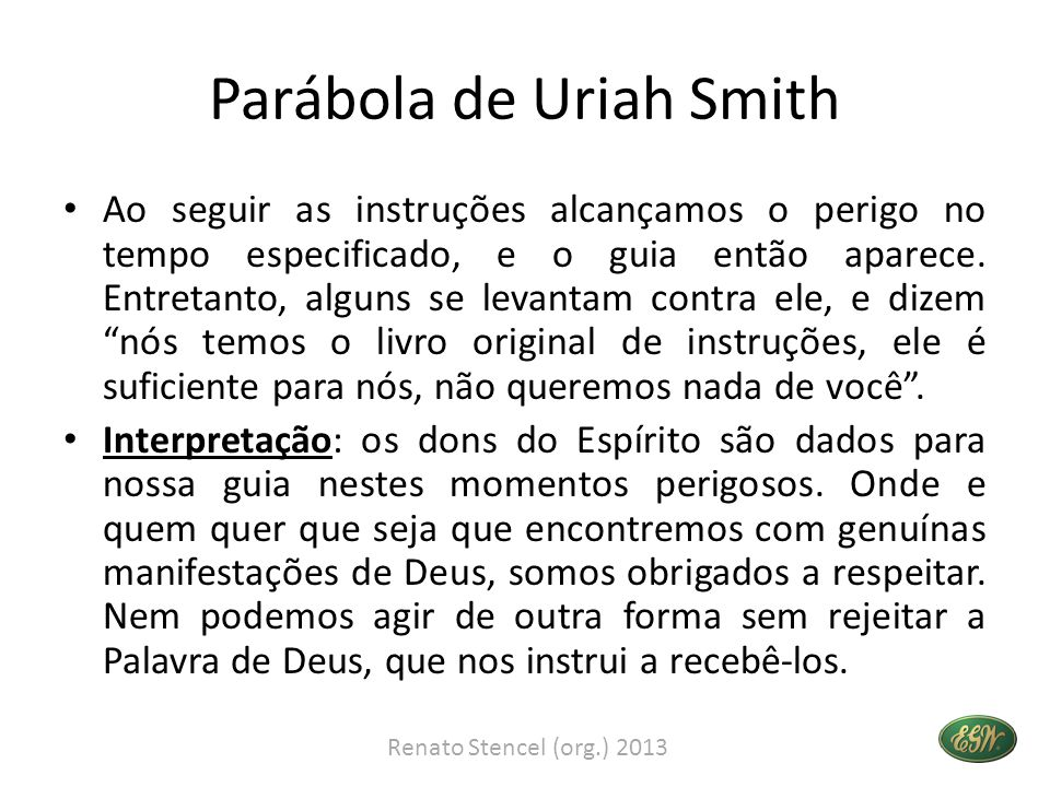 Parábola de Uriah Smith