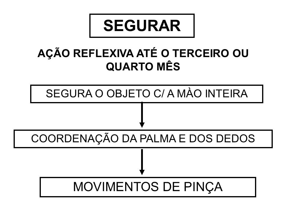 AÇÃO REFLEXIVA ATÉ O TERCEIRO OU QUARTO MÊS