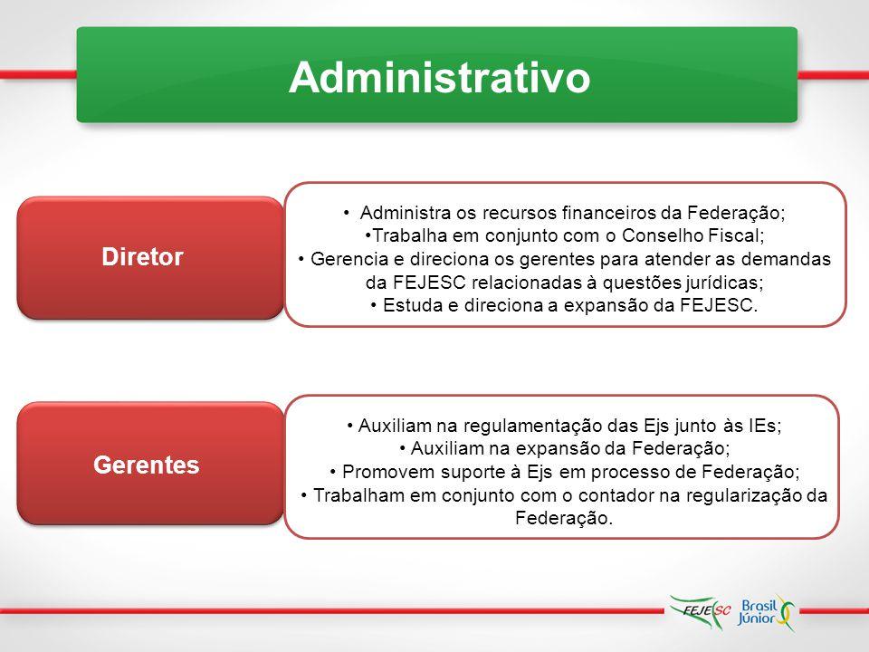 Administrativo Diretor Gerentes