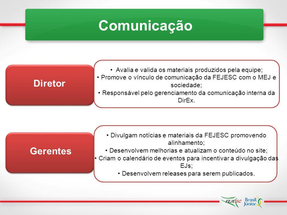 Comunicação Diretor Gerentes