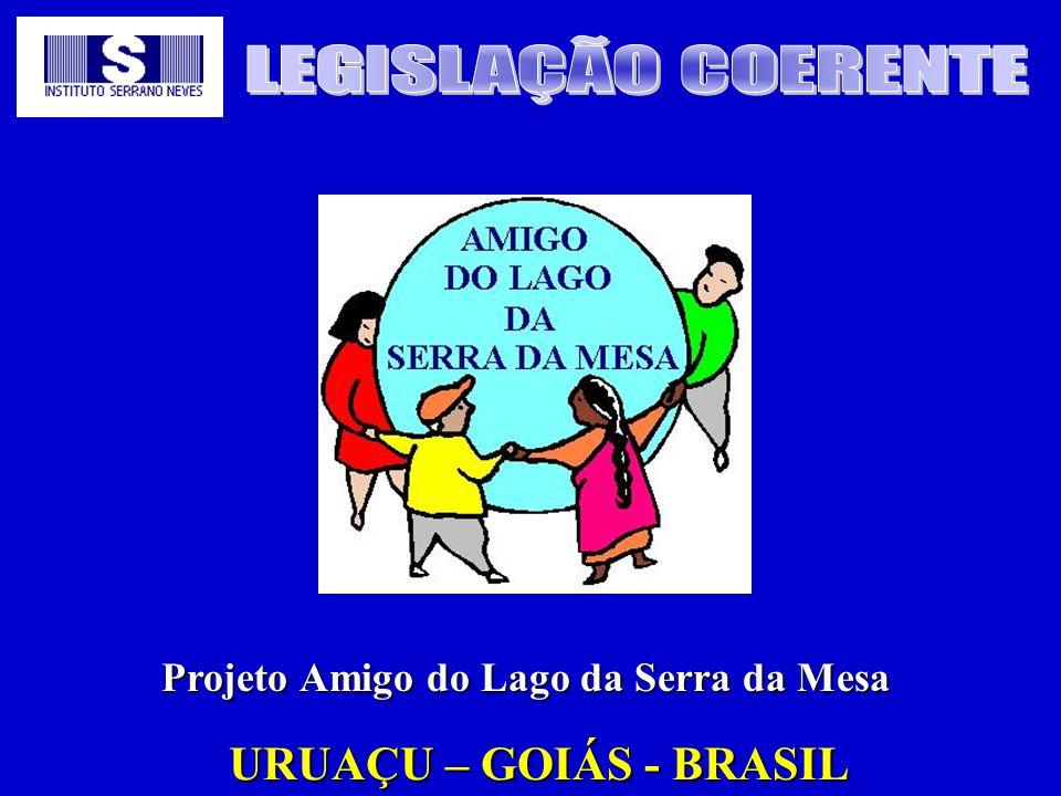 LEGISLAÇÃO COERENTE URUAÇU – GOIÁS - BRASIL