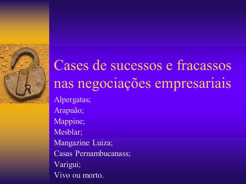Cases de sucessos e fracassos nas negociações empresariais