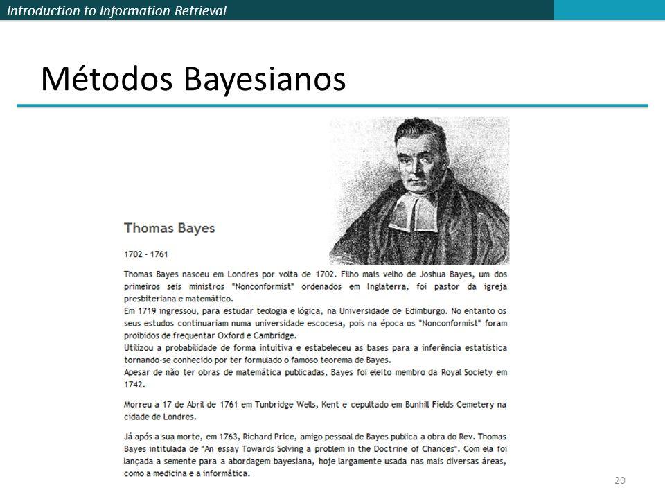 Métodos Bayesianos