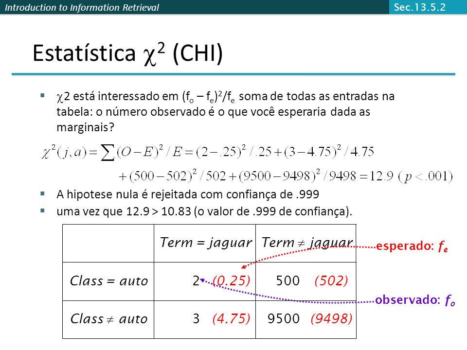Sec.13.5.2 Estatística 2 (CHI)