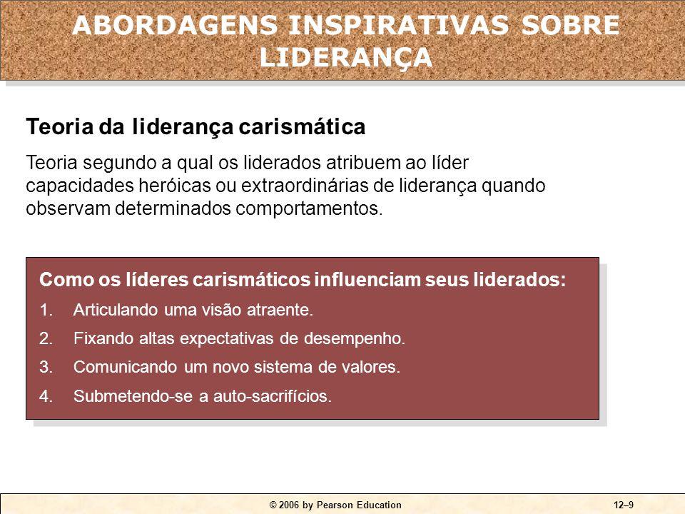 QUADRO 12-3 Características-chave dos líderes carismáticos