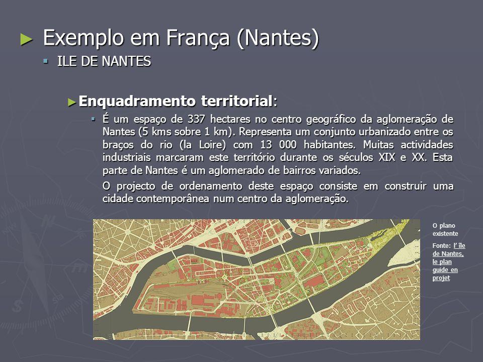 Exemplo em França (Nantes)