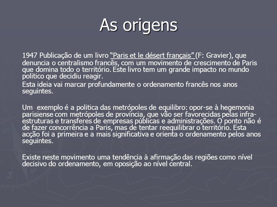 As origens