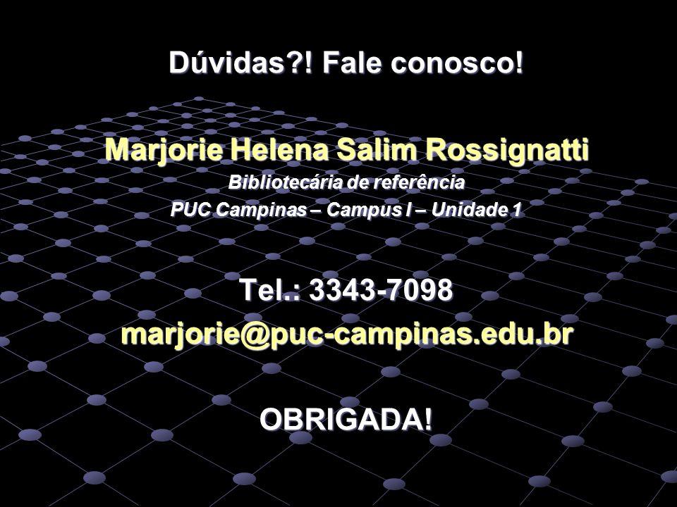 Marjorie Helena Salim Rossignatti