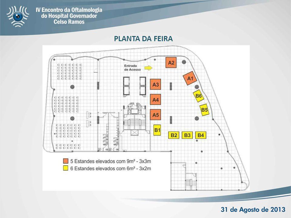 PLANTA DA FEIRA