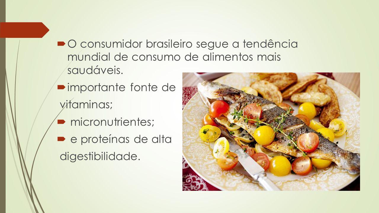 O consumidor brasileiro segue a tendência mundial de consumo de alimentos mais saudáveis.
