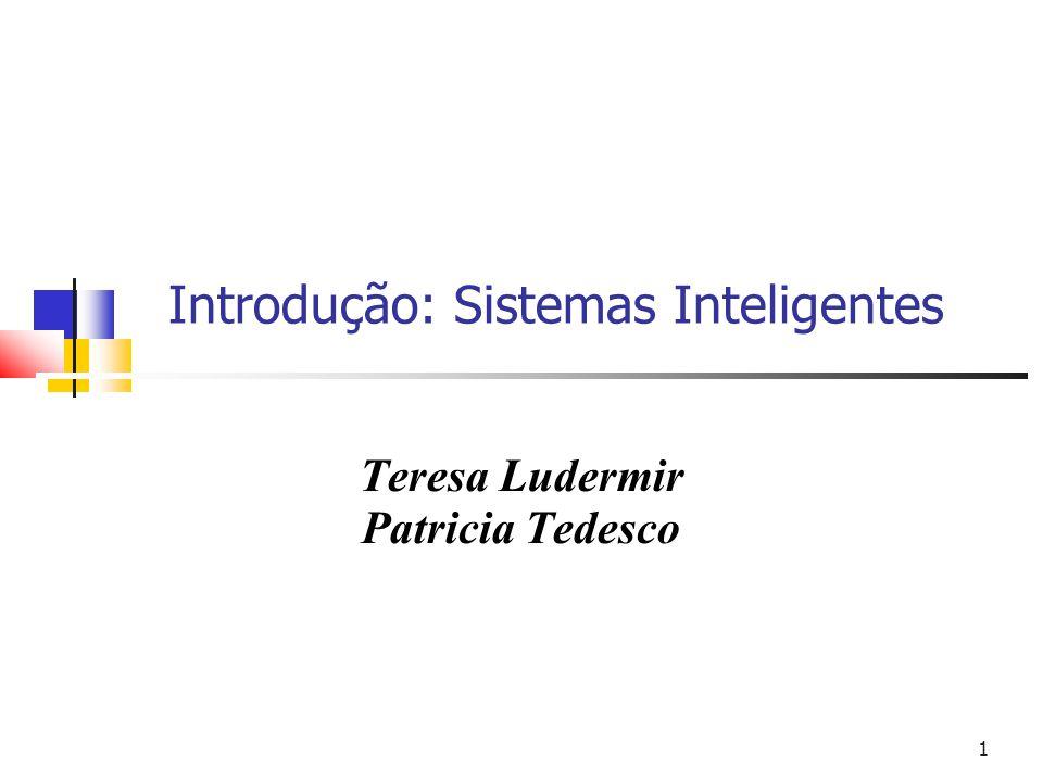 Introdução: Sistemas Inteligentes