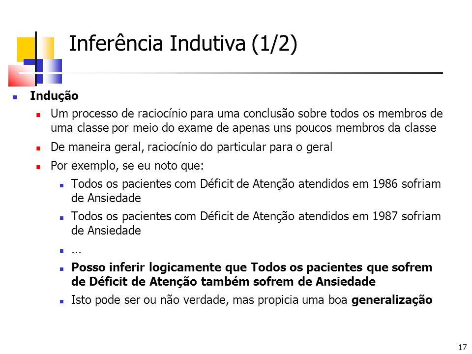 Inferência Indutiva (1/2)