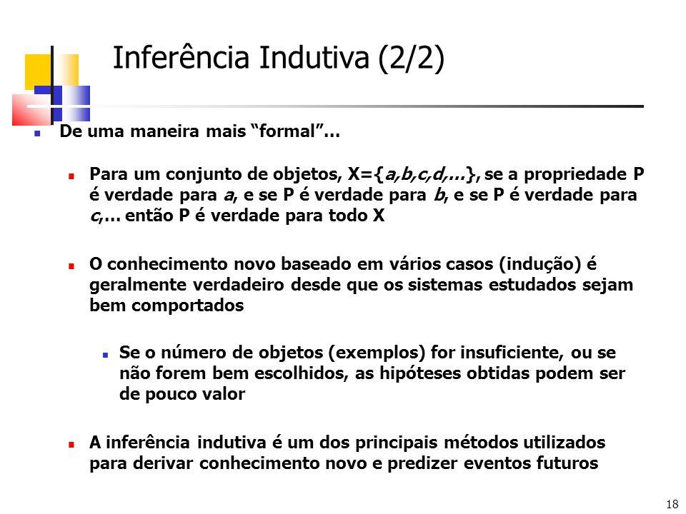 Inferência Indutiva (2/2)