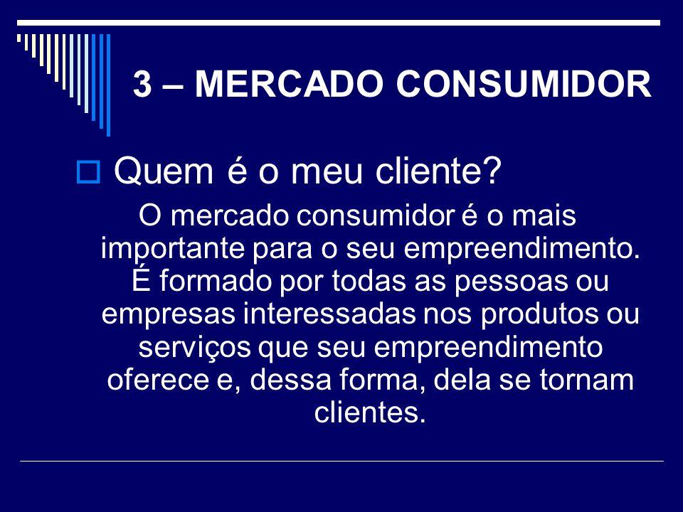 Quem é o meu cliente 3 – MERCADO CONSUMIDOR
