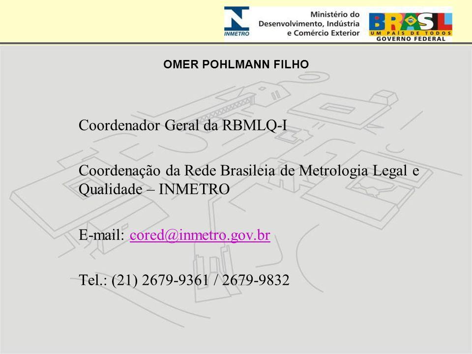 Coordenador Geral da RBMLQ-I
