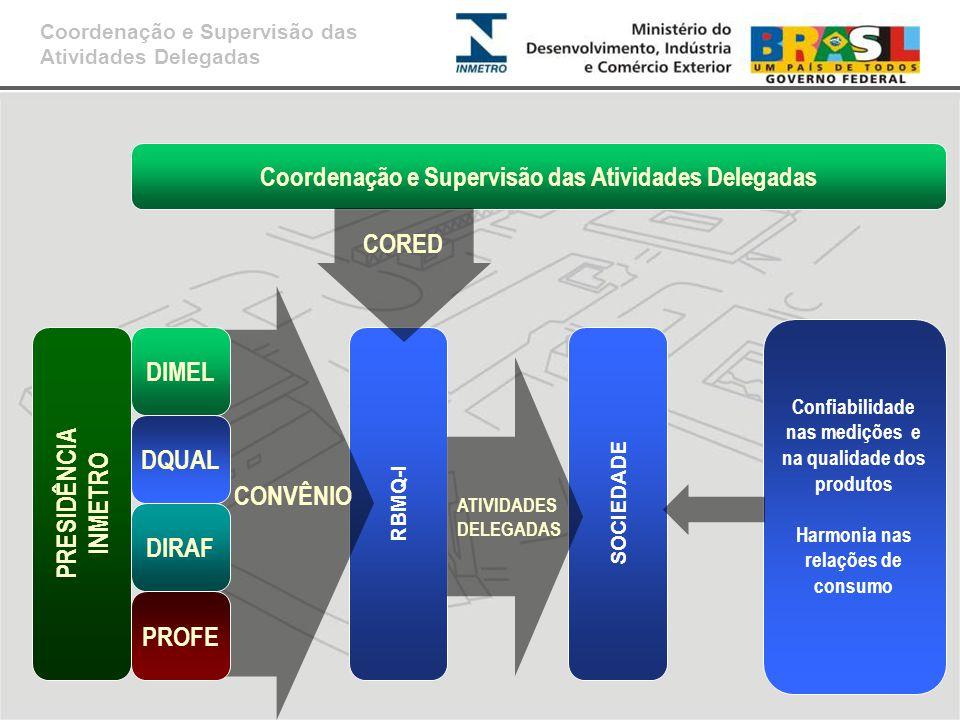 Coordenação e Supervisão das Atividades Delegadas