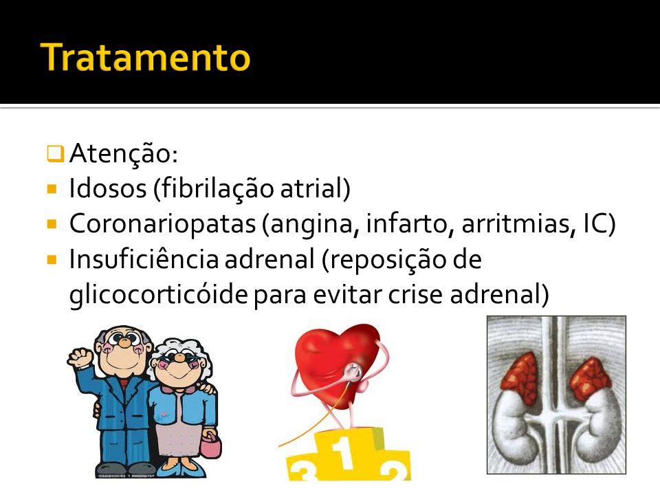Tratamento Atenção: Idosos (fibrilação atrial)