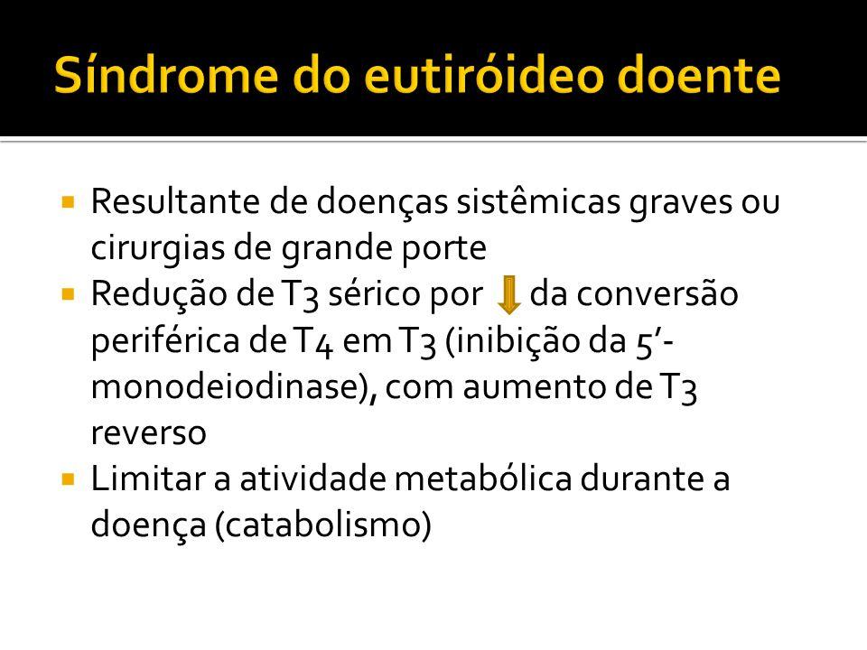 Síndrome do eutiróideo doente
