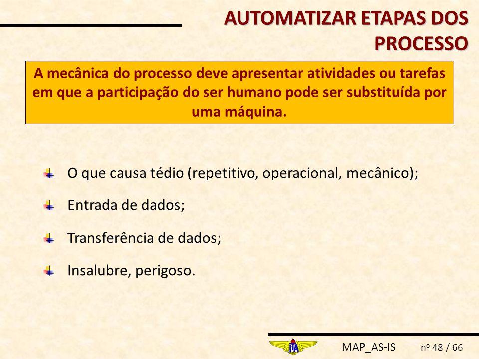 AUTOMATIZAR ETAPAS DOS PROCESSO