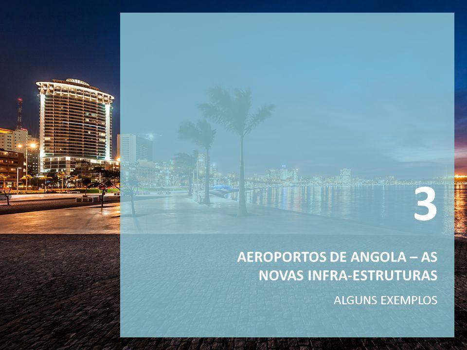 3 AEROPORTOS DE ANGOLA – AS NOVAS INFRA-ESTRUTURAS ALGUNS EXEMPLOS